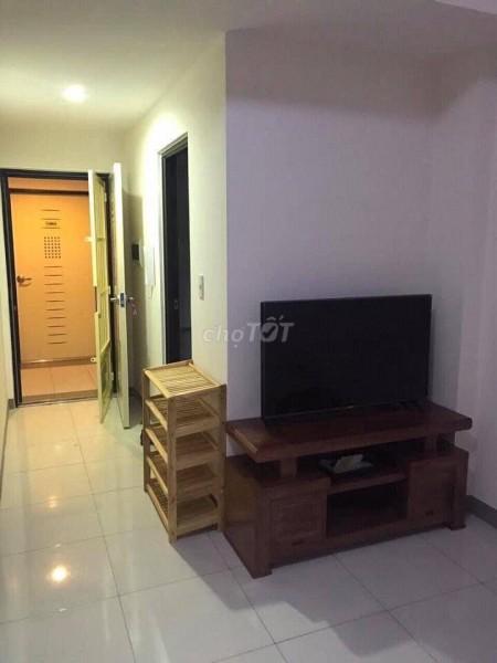 Cho thuê căn hộ 2PN, Có nội thất trong chung cư Sài Gòn Metro Park Thủ Đức, 52m2, 2 phòng ngủ, 1 toilet