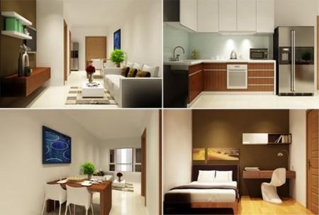 Chung cư An Gia Garden chính chủ cần cho thuê căn hộ 2PN, 2WC đang trống dọn vào ở ngay, 65m2, 2 phòng ngủ, 2 toilet