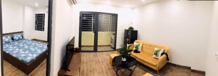 Cho thuê căn hộ giá rẻ Ba Đình, mới xây, đầy đủ nội thất, 42m2, 1PN, 42m2, 1 phòng ngủ, 1 toilet