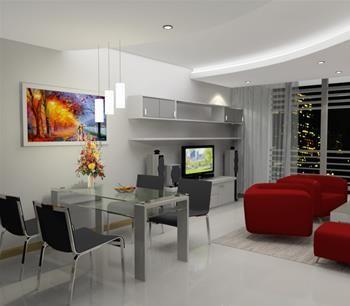 Nhà rộng, giá rẻ chung cư Satra Eximland ngay MT Phan Đăng Lưu cho thuê căn 3PN-NTDD giá chỉ 18tr/th. 0932192028-Mai, 135m2, 3 phòng ngủ, 2 toilet