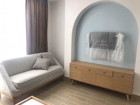 Thuê căn hộ Studio nội thất cực đẹp 904 Nguyễn Kiệm 7.5 Triệu (có thang máy, ban công) mới 100% - xem bất cứ lúc nào, 34m2, 1 phòng ngủ, 1 toilet