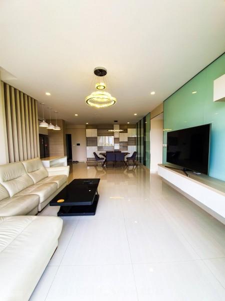 Chủ trống căn hộ 128m2, 3 PN, lầu trung, có ban công cc Riverpark Premier, cho thuê giá 46 triệu/tháng, 128m2, 3 phòng ngủ, 2 toilet