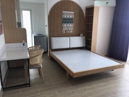 Cho thuê căn hộ chung cư tại đường Nguyễn Kiệm, Phường 3, Gò Vấp, diện tích 35m2 giá 8 Triệu/tháng có ban công rộng, 35m2, 1 phòng ngủ, 1 toilet