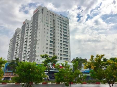 Cho thuê căn hộ #2phòngngủ DT 72m2 #Sunny_Plaza nội thất cơ bản (rèm, máy lạnh, bếp) #11Triệu / tháng - Xem ngay, 72m2, 2 phòng ngủ, 2 toilet