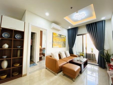 Cho thuê căn hộ chung cư Monarchy, 2PN, 2WC, tầng cao view Sông Hàn siêu đẹp, 80m2, 2 phòng ngủ, 2 toilet