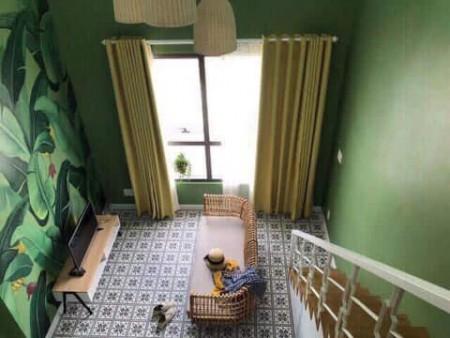 Cho thuê căn hộ có gác lửng chung cư Garden Gate ngay công viên Gia Định full NT giá 11 triệu.LH ngay 0932192028-Ms.Mai, 40m2, 1 phòng ngủ, 1 toilet