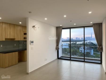 Có căn hộ tầng cao, cc Thủ Thiêm Dragon cho thuê dài hạn giá 11 triệu/tháng, dtsd 80.5m2, 805m2, 2 phòng ngủ, 2 toilet