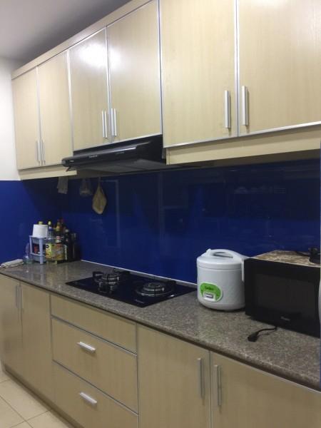 Cho thuê căn hộ Ngọc Phương Nam Quận 8, 2pn, có nội thất, giá 8.5 tr/tháng., 90m2, 2 phòng ngủ, 2 toilet
