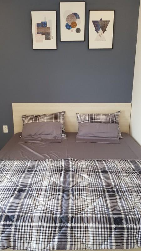 Cho thuê căn hộ Blue Saphire Bình Phú Quận 6, 2pn, có nội thất, giá 8.5tr/tháng. Lh: 0938432752, 75m2, 2 phòng ngủ, 2 toilet