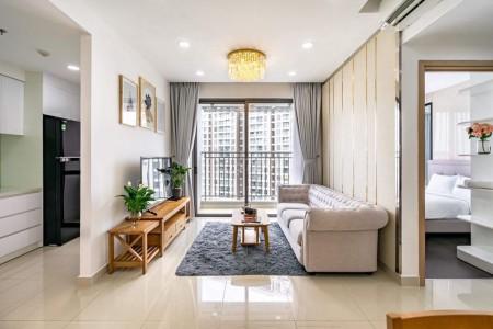 Bên em có nhiều căn hộ trống tại chung cư The Tresor Quận 4. Cho thuê giá siêu tốt cho mùa dịch, 53m2, 1 phòng ngủ, 1 toilet