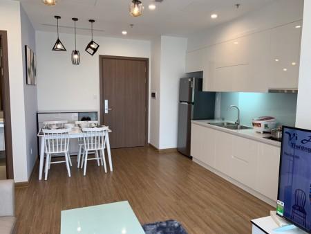 Cho thuê CH 2PN - DT 70m2 nội thất cao cấp giá cho thuê rẻ nhất 9,5 tr/tháng tại Vinhomes Green Bay, 70m2, 2 phòng ngủ, 2 toilet
