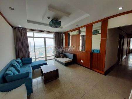 Chung cư Hoàng Anh River View cho thuê căn hộ 4 phòng ngủ, căn góc, có đủ nội thất, 162m2, 4 phòng ngủ, 3 toilet