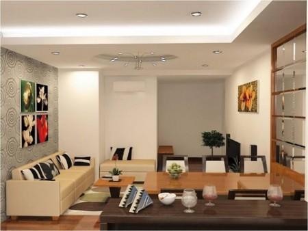 Cho thuê căn hộ cao cấp 2Pn, 2Wc, tại chung cư Ruby Garde Tân Bình, 70m2, 2 phòng ngủ, 2 toilet