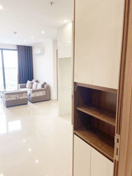 Cho thuê căn hộ mới, đủ nội thất, 2pn tại chung cư Vinhomes Smart City, 54m2, 2 phòng ngủ, 1 toilet