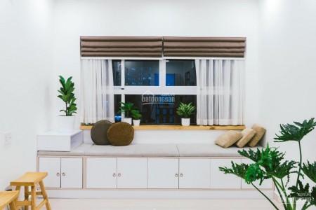 Trống căn hộ rộng tầng cao, cc 9 view, gam màu sáng cần cho thuê giá 6 triệu/tháng, dtsd 60m2, 2 PN, 60m2, 2 phòng ngủ, 2 toilet
