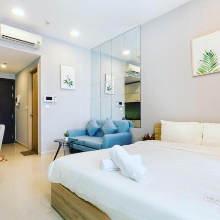 Cần cho thuê căn hộ Officetel River Gate - Quận 4 - giá 10 triệu, 30m2, 1 phòng ngủ, 1 toilet