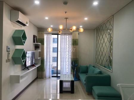 Cho thuê căn hộ tầng số 23 thoáng mát, view đẹp, đầy đủ nội thất siêu đẹp, 58m2, 1 phòng ngủ, 1 toilet
