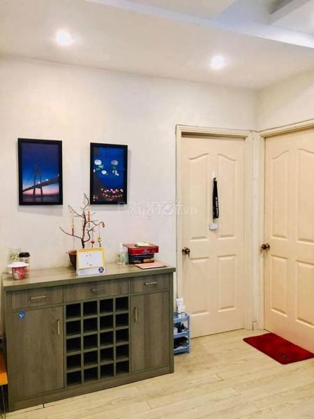 Cho thuê căn hộ chung cư Nguyễn Chí Thanh Quận 5, Nhà mới đẹp tầng 17 full nội thất, 67m2, 2 phòng ngủ, 1 toilet