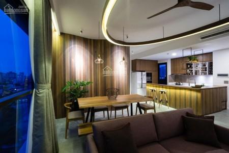 Có căn hộ tầng cao 105m2, kiến trúc thông minh, 3 PN, gió vào mát mẻ, cc The Ascent, giá 21 triệu/tháng, 105m2, 3 phòng ngủ, 2 toilet