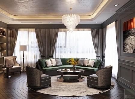 Cho thuê căn hộ chung cư Kingdom 101 Quận 10, 3PN, 2WC giá thuê 38 triệu/tháng, 102m2, 3 phòng ngủ, 2 toilet