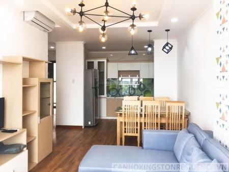 Mình có căn hộ 80m2, 2 PN, đầy đủ tiện nghi, nội thất, cc Kingston Residence, giá 17 triệu/tháng, 80m2, 2 phòng ngủ, 2 toilet