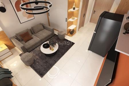 Cần cho thuê căn hộ chung cư Vinhomes Smart City 50m2, 1PN, 1WC mới đẹp đủ đồ dùng, 50m2, 1 phòng ngủ, 1 toilet
