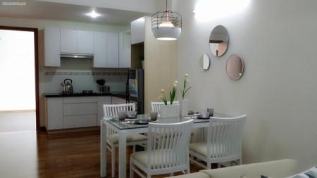 Cho thuê căn hộ chung cư 102m2, 3PN, 2WC tại Tản Đà Court Quận 5, 102m2, 3 phòng ngủ, 2 toilet