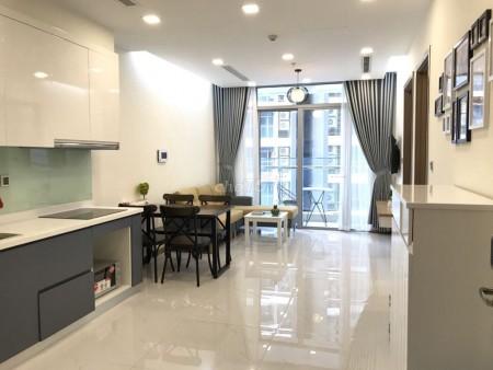 Căn hộ Vinhomes Central Park cao cấp, mới, đẹp hiện đại với nhiều tiện ích, 50m2, 1 phòng ngủ, 1 toilet