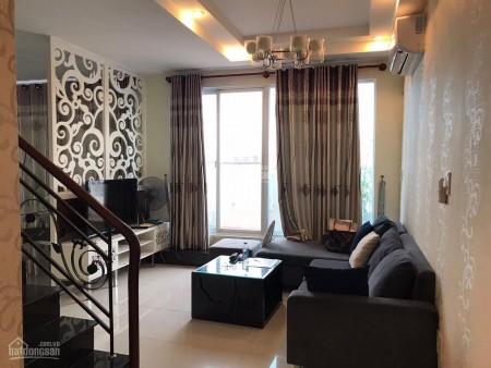 Penthouse Sky Garden cần cho thuê giá 20 triệu/tháng, 3 PN, có nội thất, dtsd 170m2, thoáng, 170m2, 3 phòng ngủ, 2 toilet