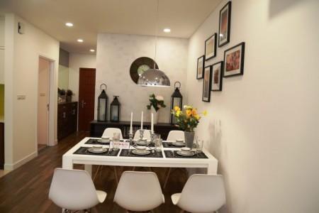 Tôi cần cho thuê căn hộ 2PN mới hoàn thiện NT tại tòa S3 Goldmark City 9,5tr/th, 83m2, ,
