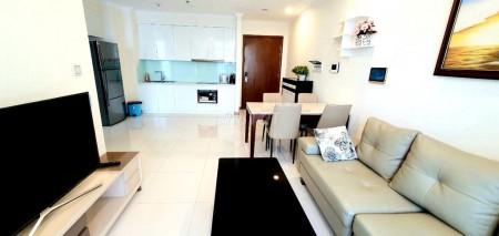 Cho thuê căn hộ chung cư cao cấp Vinhomes Central Park 2PN, 80m2, chỉ 24 triệu/tháng, 80m2, 2 phòng ngủ, 2 toilet