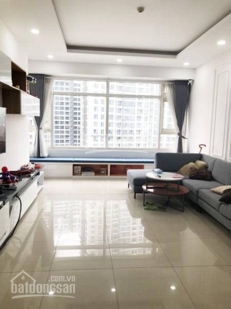 Căn hộ toà Rubi 2 rộng 135m2 cần cho thuê giá 21 triệu/tháng, kiến trúc cổ điển, cc Saigon Pearl, 135m2, 3 phòng ngủ, 2 toilet