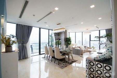 Vinhomes Ba Son có căn hộ 165m2, 4 PN, thiết kế vòng cung cần cho thuê giá 100 triệu/tháng, đủ đồ dùng, 165m2, 4 phòng ngủ, 3 toilet