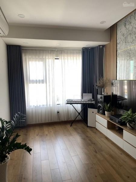 Trống căn hộ rộng 60m2, tầng cao view không chị che chắn, giá 7 triệu/tháng, cc Flora Novia, 60m2, 2 phòng ngủ, 2 toilet