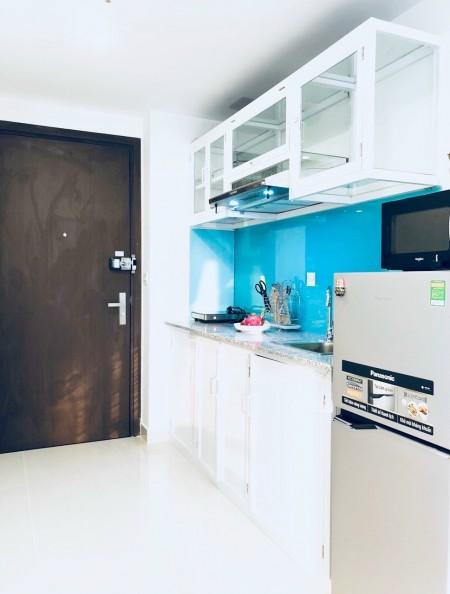 Cho thuê gấp River Gate full nội thất giá thuê 9tr cọc 1 tháng, 28m2, 1 phòng ngủ, 1 toilet