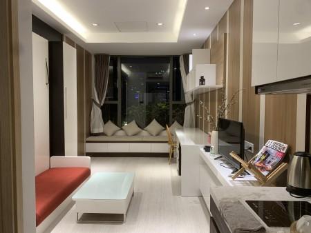 """""""Cho thuê căn hộ cao cấp River Gate, quận 4, 1pn, nội thất đầy đủ, diện tích 30m, 10tr/tháng. Liên hệ: 0938432752 Trang, 30m2, 1 phòng ngủ, 1 toilet"""