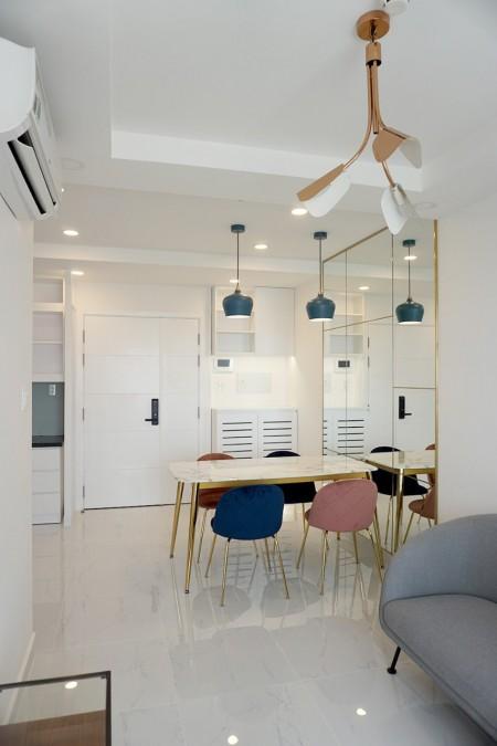 Căn hộ 2PN-2WC-72m2 full nội thất chung cư Terra Royal đường Nam Kỳ Khởi Nghĩa quận 3 giá 20tr/th bao phí quản lý, 72m2, 2 phòng ngủ, 2 toilet
