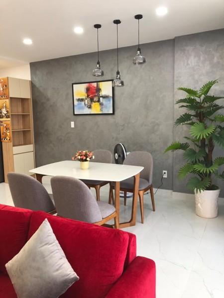 Căn hộ 3PN-2WC-98m2 full nội thất Châu Âu chung cư Orchard Park View giá chỉ 22 triệu/tháng. LH 0932192028-Mai, 98m2, 3 phòng ngủ, 2 toilet