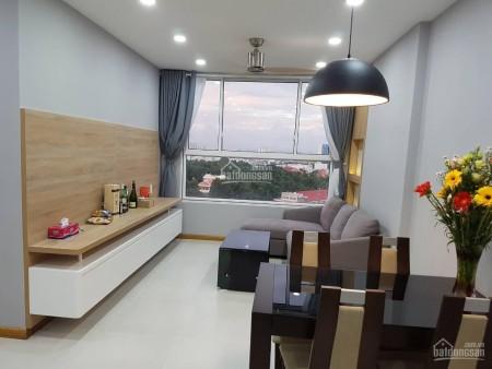 Có căn hộ tầng cao, đồ dùng cơ bản cần cho thuê giá 11 triệu/tháng, dtsd 86m2, 2 PN, 86m2, 2 phòng ngủ, 2 toilet