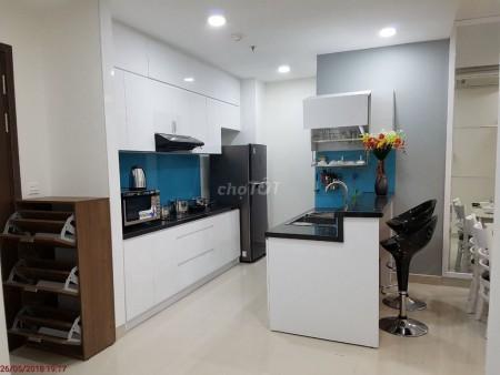 Cho thuê căn hộ 74m2, 2PN, 2WC tại chung cư river gate ngay chân cầu ông lãnh quận 4, 74m2, 2 phòng ngủ, 2 toilet
