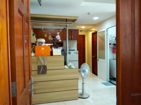 Căn hộ Central Plaza cho thuê căn góc 2PN, Nội thất đính kèm, Giá 13Tr, 70m2, 2 phòng ngủ, 2 toilet