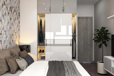 Căn hộ The Botanica cho thuê 1 Phòng ngủ riêng, Full nội thất, Giá #12 Triệu, 54m2, 1 phòng ngủ, 1 toilet