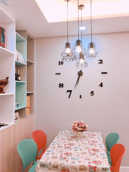 Cho thuê căn hộ 2PN full nội thất chung cư Botanica Phổ quang giá 15tr/th bao phí 1 năm. LH 0932192028-Ms.Mai, 73m2, 2 phòng ngủ, 2 toilet