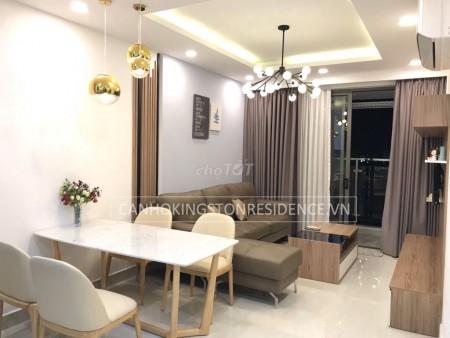 Cho thuê căn hộ chung cư Kingston Residence Phú Nhuận, 2PN, 2WC, 80m2, 80m2, 2 phòng ngủ, 2 toilet
