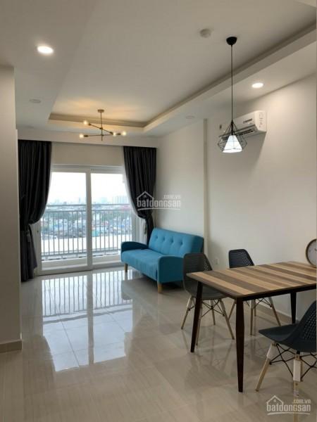 Có căn hộ rộng 51m2, 1 PN, nội thất đủ, phòng ngủ lát sàn gỗ, cho thuê giá 7 triệu/tháng, cc Moonlight Boulevard, 51m2, 1 phòng ngủ, 1 toilet