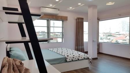 Cho thuê căn hộ tại Văn Cao, Ba Đình, 85m2, 2PN, đầy đủ nội thất hiện đại, sáng thoáng, ban công, 85m2, 2 phòng ngủ, 2 toilet