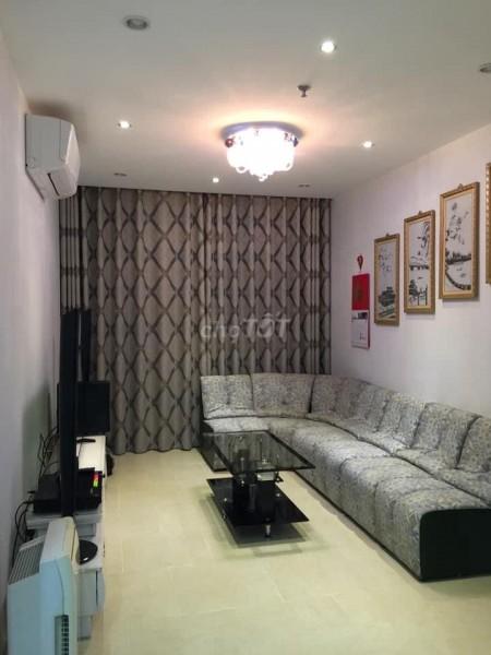 Cho thuê căn hộ tầng số 10 2pn tại chung cư Bảy Hiền Tower, 70m2, 2 phòng ngủ, 2 toilet