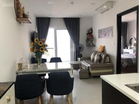 Xi Grand cần cho thuê căn hộ tầng cao 53m2, 2 PN, có nội thất, giá 14 triệu/tháng, LHCC, 53m2, 2 phòng ngủ, 1 toilet