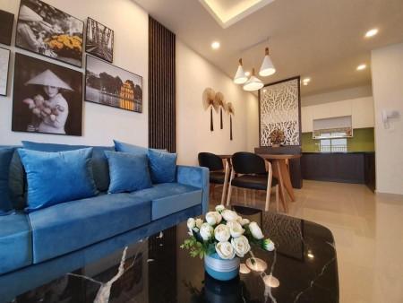 Căn hộ Golden Mansion cho thuê 2PN, Full NT, gần Sân bay, Giá thuê 18Tr bao phí, 75m2, 2 phòng ngủ, 2 toilet