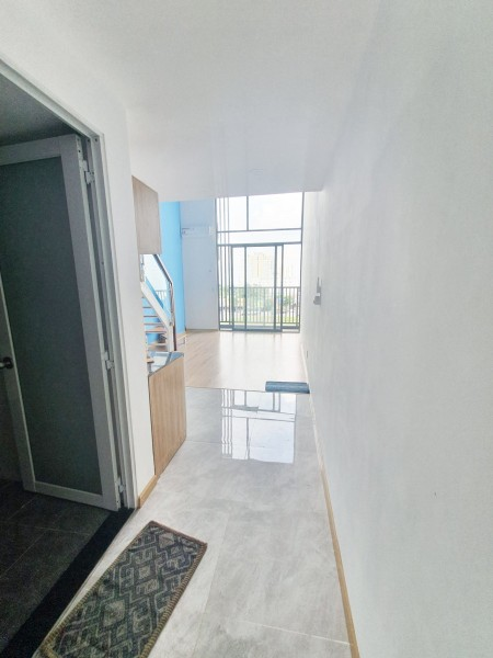 Căn hộ Q9 1PN 50m² thiết kế cực bắt mắt, có sẵn máy lạnh, hệ thống bếp, 50m2, 1 phòng ngủ, 1 toilet